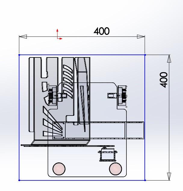 Volume constraint of 400m3