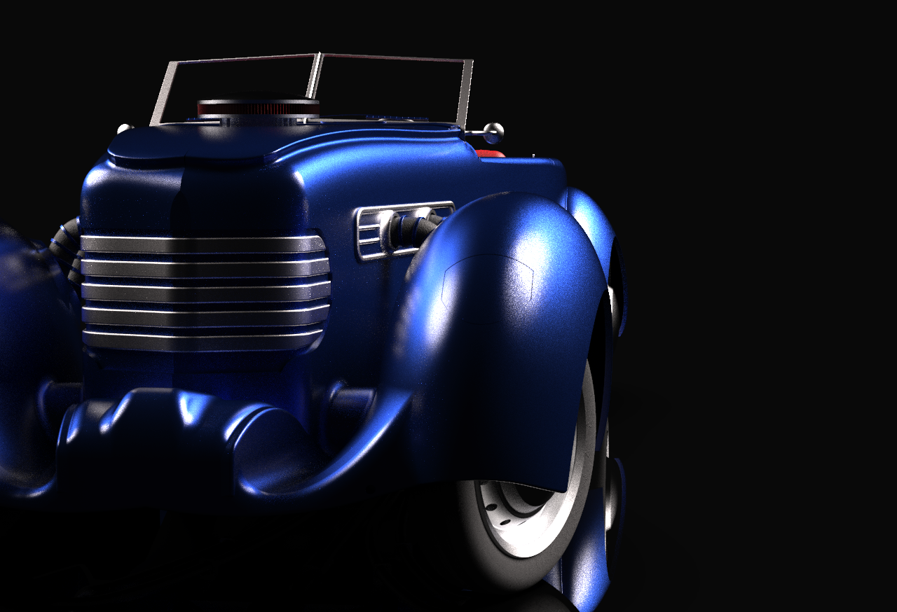 1937 Cord 812 Solidworks Model