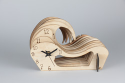 'Slotted' Wave Clock