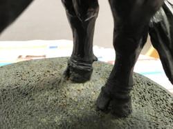 Original Bull Model made from bronze