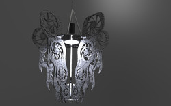 Final render white with black viens