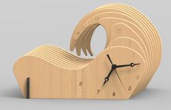 Slotted V1 render wood.