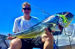 The Mahi Mahi we caught!