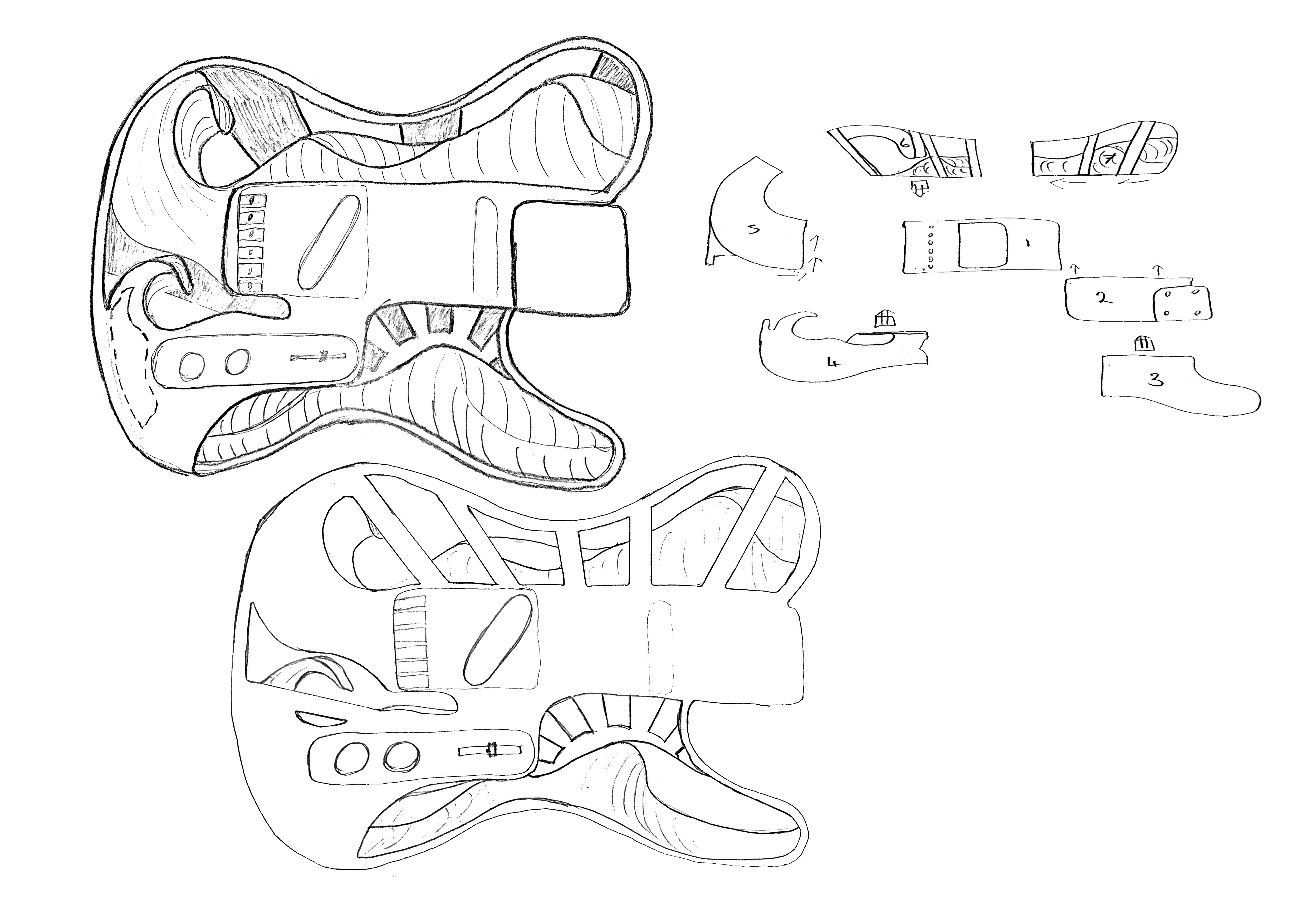 Some concept sketching.