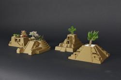 4 3D Printed Temples