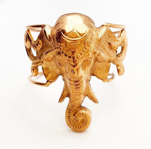 Copper Ganesh Cuff