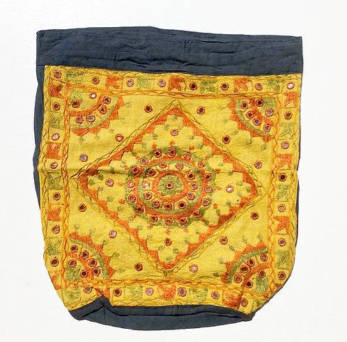 Dandelion Embroidered Backpack