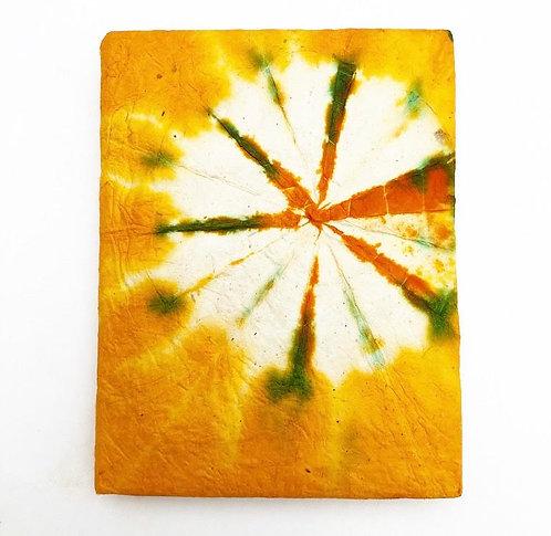 Orange Tie Dye Pocket Notebook