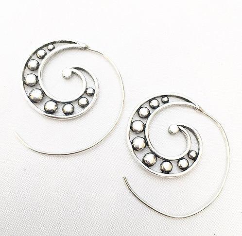 Mobor Silver Earrings
