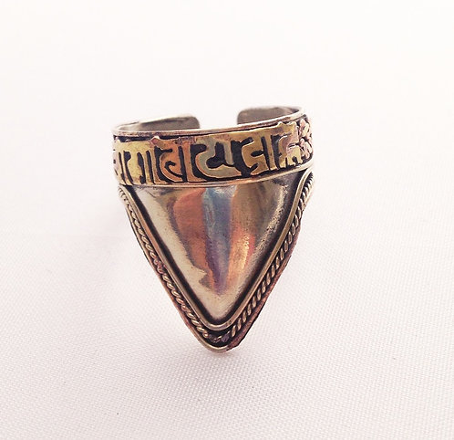 Newari Mantra Ring