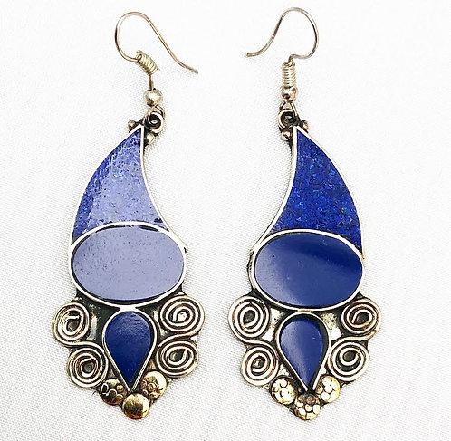 Lapis Lazuli Bayana Earrings