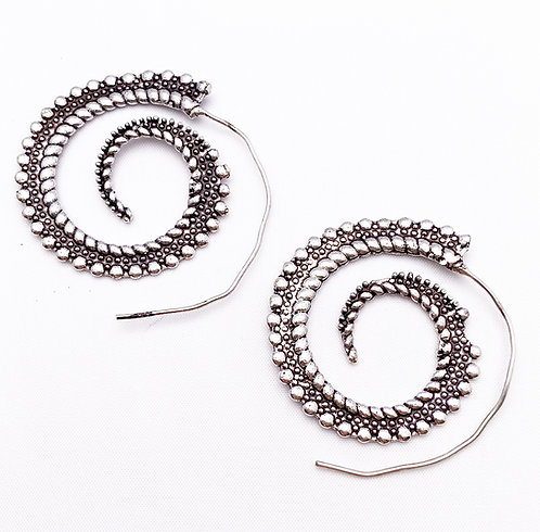 Agonda Silver Earrings