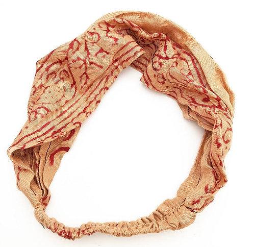 Almond Cotton Mantra Headband