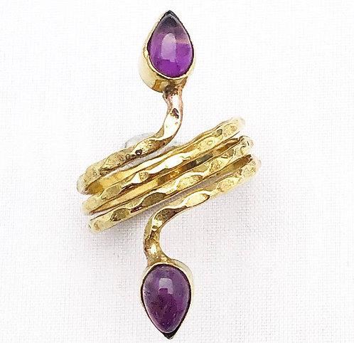 Amethyst Ghuma Ring