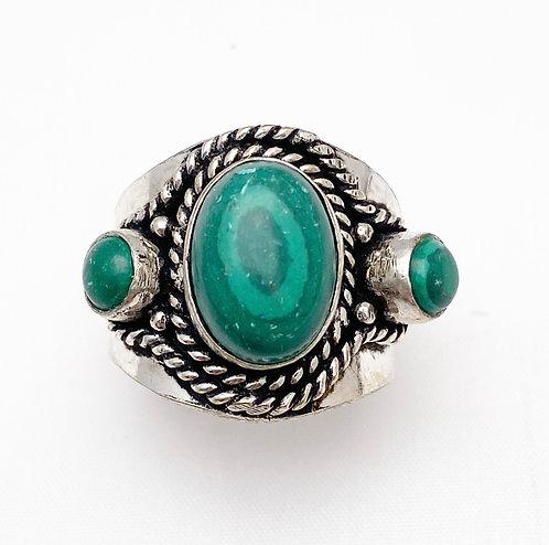 Malachite Chattaan Ring