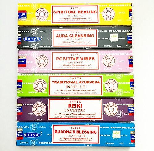 Healing Energy Incense Set