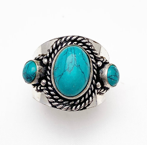 Turquoise Chattaan Ring