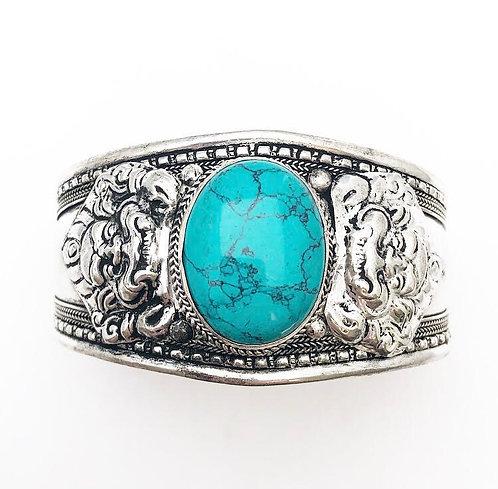 Turquoise Tibetan Cuff
