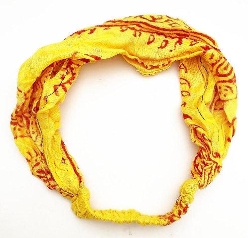 Sunflower Cotton Mantra Headband