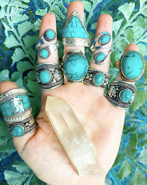 Handmade Indian & Nepalese Rings