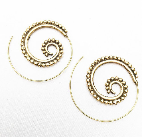 Carmona Brass Earrings