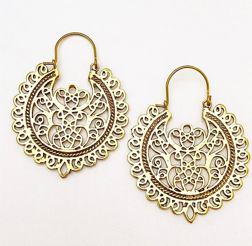 Varca Brass Earrings
