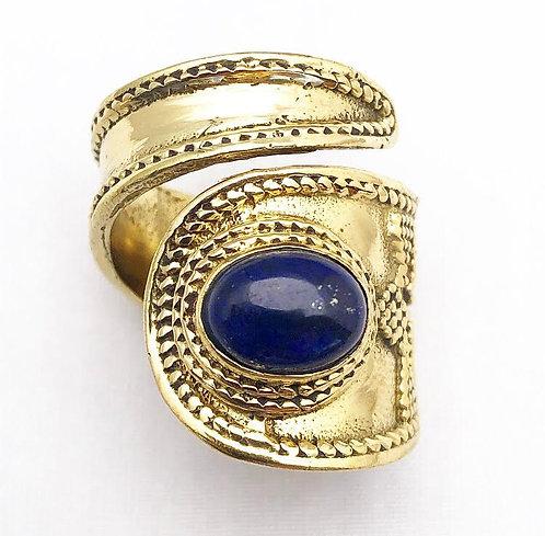 Lapis Lazuli Lapeten Ring