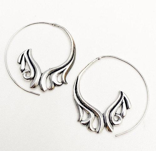 Sernabatim Silver Earrings