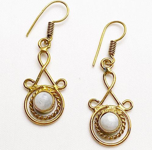 Moonstone Latakana Earrings