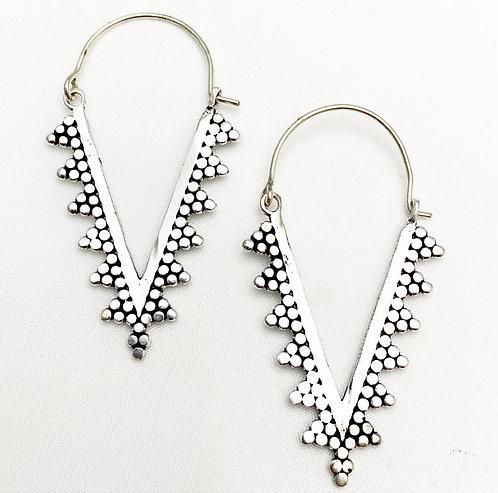 Reis Silver Earrings