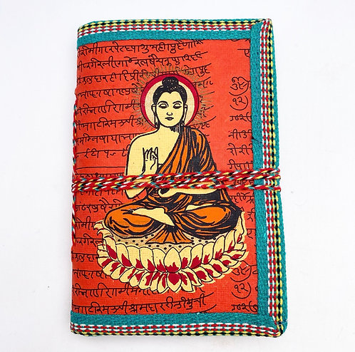 Dark Orange Buddha Journal