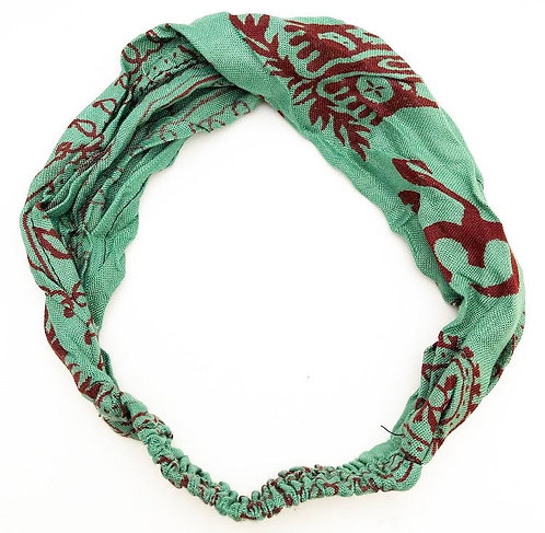 Moss Cotton Mantra Headband