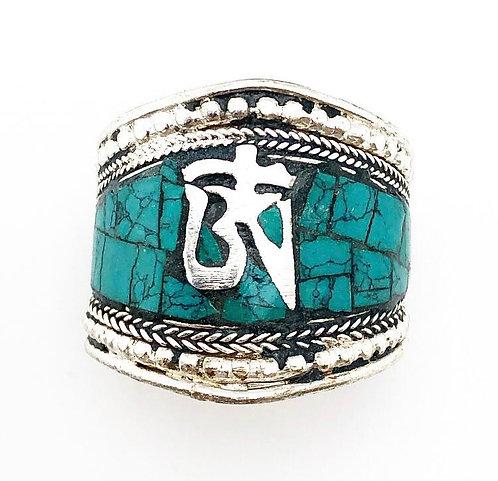 Turquoise Ohm Ring