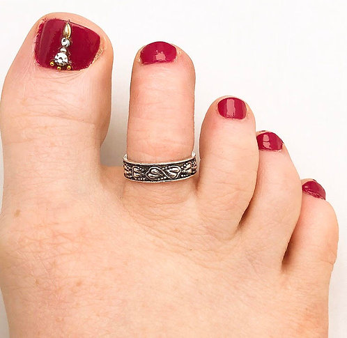 Ivy Toe Ring