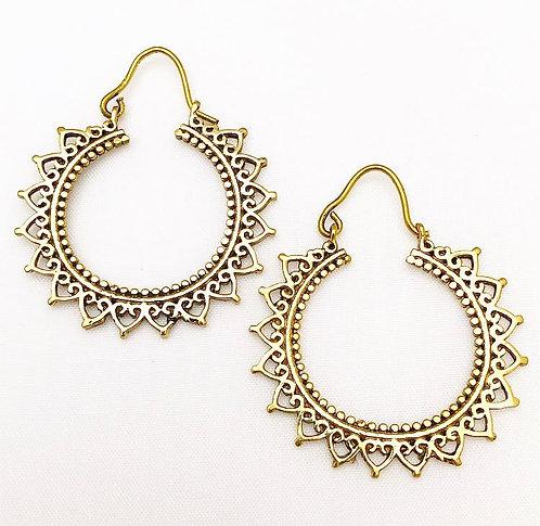 Cavellossim Brass Earrings