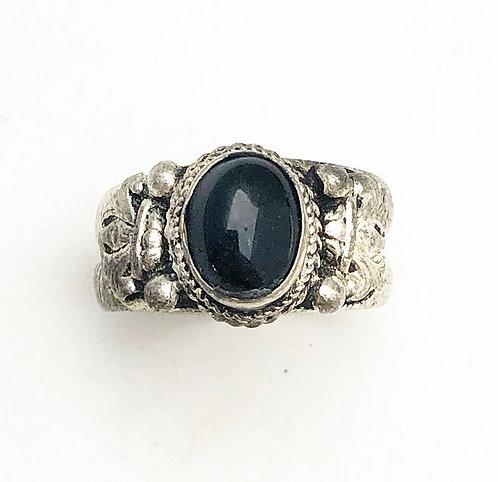 Black Nepalese Ring