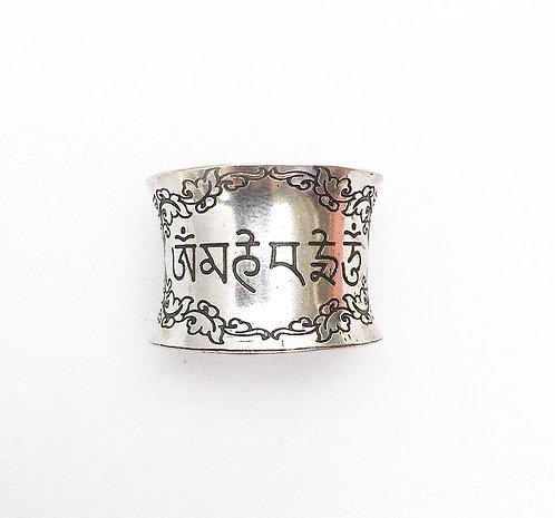 Filigree Mantra Ring