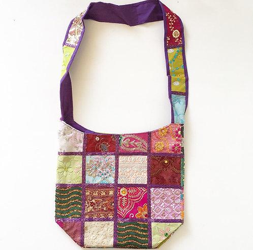Lucknow Sari Slouch Bag