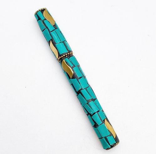 Turquoise Mosaic Pen