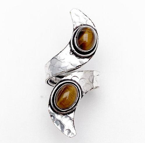 Tigers Eye Ankit Ring