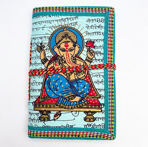 Sky Blue Ganesh Journal