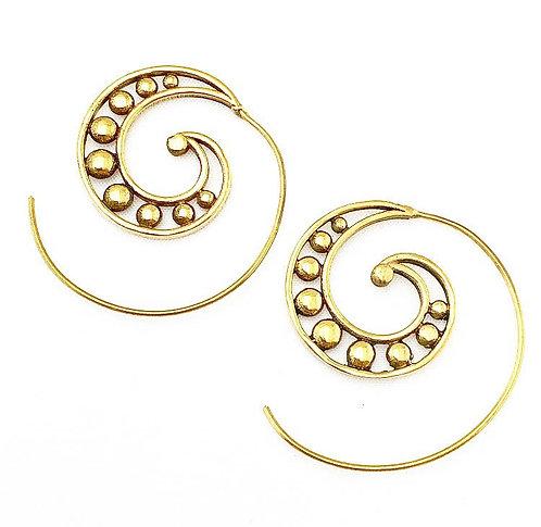 Nerul Brass Earrings