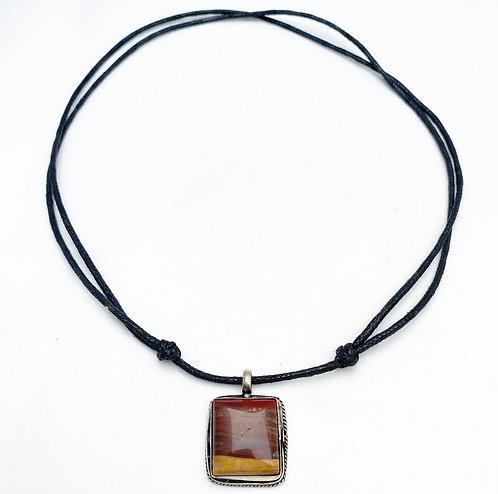 Mookaite Pendant Necklace