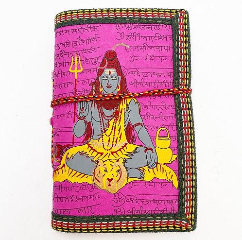 Bright Pink Shiva Journal