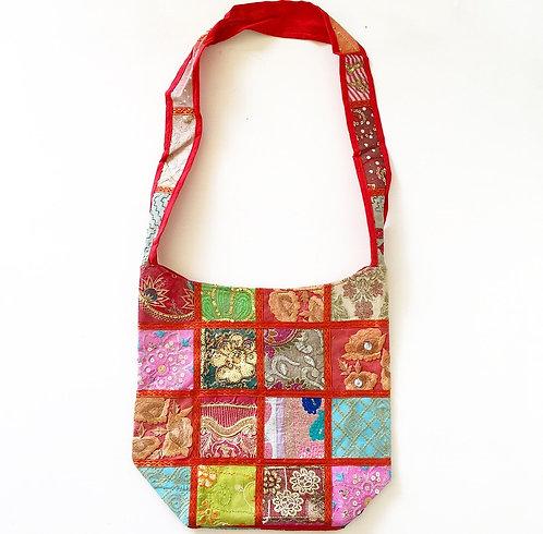Bengaluru Sari Slouch Bag