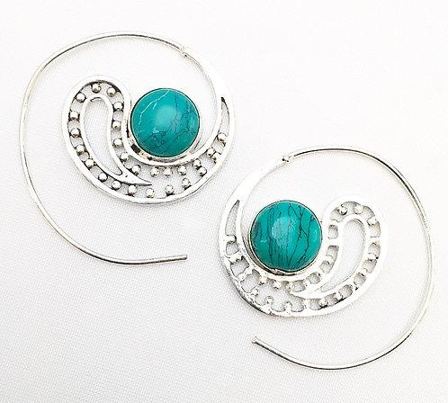 Raat Ki Rani Stone Earrings