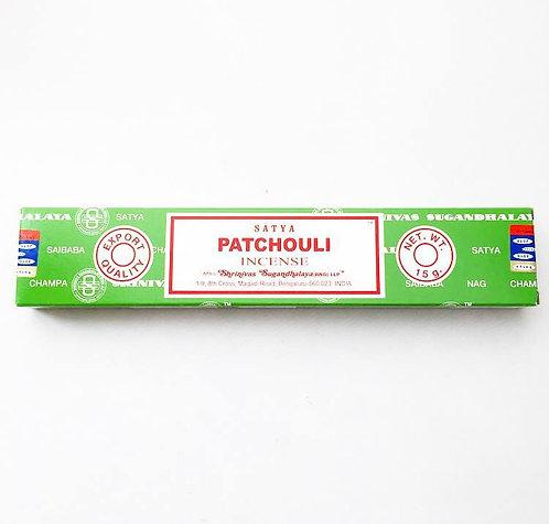 Satya Incense- Patchouli