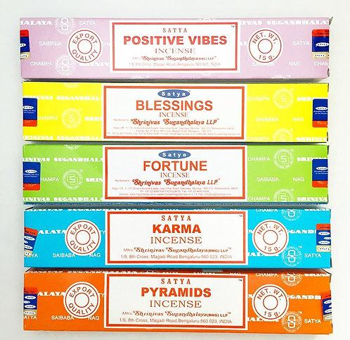 Positive Vibes Incense Set
