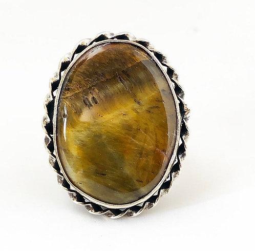 Jaisalmer Stone Ring