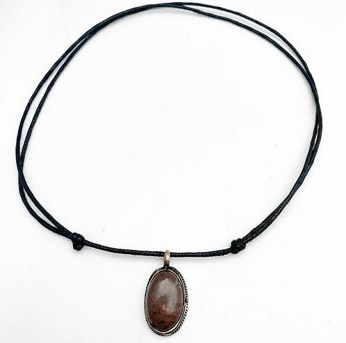 Shiva Lingam Pendant Necklace